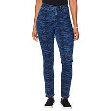 DG2 by Diane Gilman Virtual Stretch Printed Skinny Jean