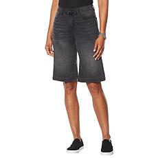 DG2 by Diane Gilman Virtual Stretch Wide-Leg Bermuda Short