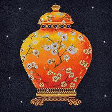 Diamond Dotz Diamond Embroidery Facet Art Kit - Red Vase