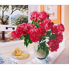 Diamond Dotz Diamond Embroidery Facet Art Kit  - Roses By The Window