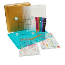 Diamond Press Celebration Storage, Markers & Stamp Kit