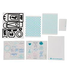 Diamond Press Gift Bag Stamp and Die Set