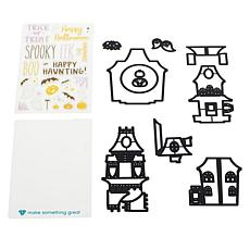 Diamond Press Haunted House Stamp and Die Kit