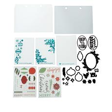 Diamond Press Holiday Collection Stamp and Die Kit