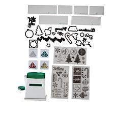 Diamond Press Holiday Embossing Tool Bundle