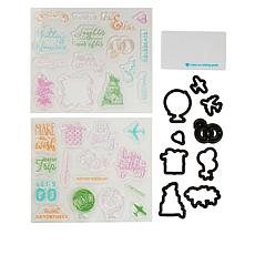 Diamond Press Photo Memory Stamp and Die Kit