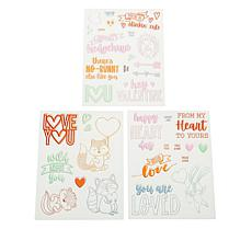"Diamond Press ""Wild About You"" Stamp Kit"