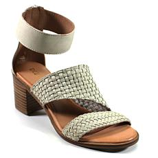 Diba True Cant Wait Leather Block-Heel Sandal