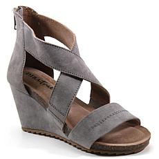 Diba True New Comer Suede Wedge Sandal