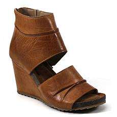 Diba True Next N Line Leather Wedge Sandal
