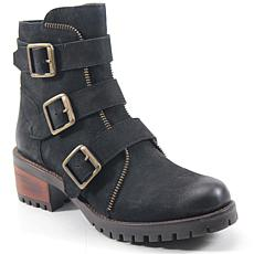 Diba True Roll Around Leather Moto Boot