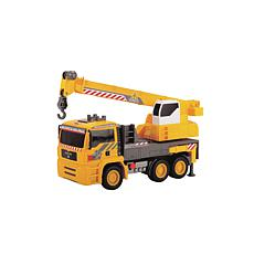 "Dickie Toys 12"" Air Pump Action Mobile Crane Truck"