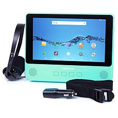 "DigiLand 9"" Quad-Core 32GB Android Tablet & DVD Player with Headphones"