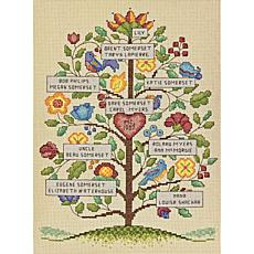 Dimensions Cross Stitch Kit - Vintage Family Tree