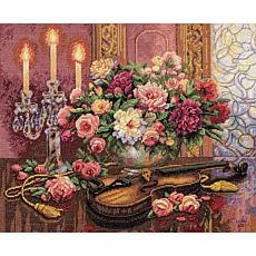 Dimensions Gold Cross Stitch Kit - Romantic Floral