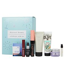 Discover Beauty x Celebrate with Us Sample Box