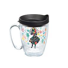 Disney Alice Curiouser 16 oz Coffee Mug with lid