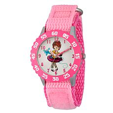 Disney Fancy Nancy Kid's Pink Sports Watch