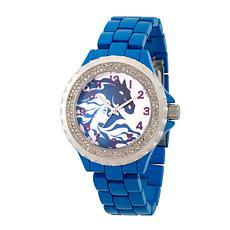 Disney Frozen 2 Elsa Women's Enamel Sparkle Blue Alloy Bracelet Watch