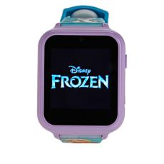 Disney Frozen Kids' Blue Interactive Smart Watch