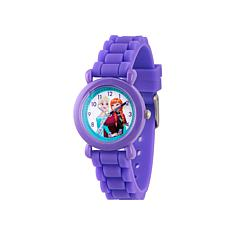Disney Frozen Kid's Time-Teacher Purple Strap Bracelet Watch