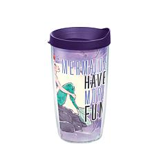 Disney Little Mermaid Have More Fun 16 oz Tumbler with lid