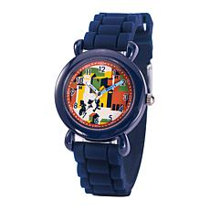 Disney Luca Kids' Time Teacher Watch with Blue Silicone Strap