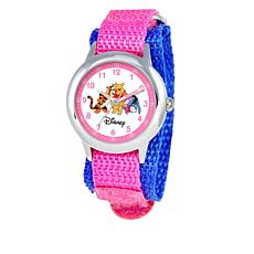 Disney Pooh and Friends Kid's Time-Teacher Watch with Rotating Bezel