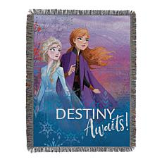 Disney's Frozen 2 - Destiny Awaits 051 Woven Tapestry Throw Blanket