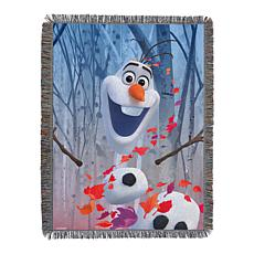 Disney's Frozen 2 - In The Leaves 051 Woven Tapestry Throw Blanket