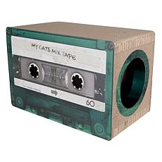 District 70 Mix Tape Large Cardboard Cat Scratcher - Emerald