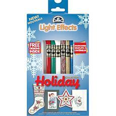 DMC Light Effects Floss Pack 8.7yd 6/Pkg - Holiday