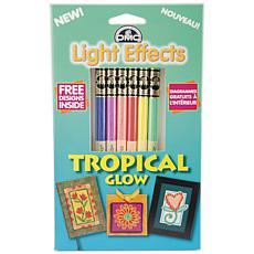 DMC Light Effects Floss Pack 8.7yd 6/Pkg - Tropical Glow