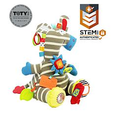 Dolce Activity Zebra Plush Toy