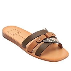 Dolce Vita Cait Leather Low-Wedge Slide