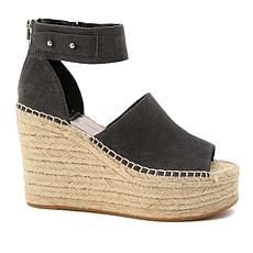 Dolce Vita Suede Espadrille Wedge Sandal