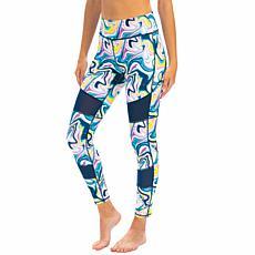 Dolfin Uglies Revibe-Print Mesh Swim Legging - Womens