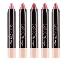 Doll 10 Nourishing Lip Crayons 5-piece Collection
