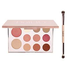 Doll 10 Rose Brilliance Face and Eye Palette