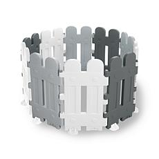 Dolu Toys Contemporary Plastic Fence with 10 Interlocking Pieces