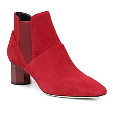 Donald J. Pliner Fate Leather or Suede Octagon-Heel Bootie