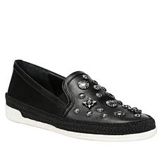 Donald J. Pliner Pamela Studded Leather Slip-On Sneaker