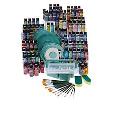 Donna Dewberry One Stroke 120-piece Mega Paint and Tool Kit