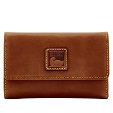 Dooney & Bourke Florentine Leather Flap Wallet