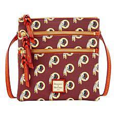 Dooney & Bourke NFL Triple Zip Crossbody