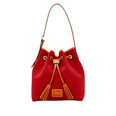 Dooney & Bourke Patterson Aimee Leather Drawstring Bag