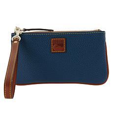 Dooney & Bourke Pebble Leather Medium Zip Wristlet
