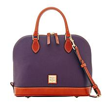 Dooney & Bourke Pebble Leather Satchel