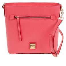 Dooney & Bourke Saffiano Leather Zip Crossbody - Fashion