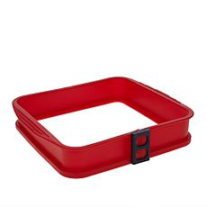 "DoughEZ 9"" x 9"" Square Silicone Spring-Form Pan"